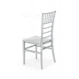Svadobné stoličky CHIAVARI TIFFANY stříbro