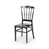 Svadobná stolička CHIAVARI NAPOLEON čierna