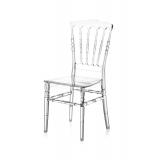 Svadobná stolička CHIAVARI NAPOLEON transparentné