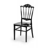 Svadobná stolička CHIAVARI PRINCESS ČIERNA