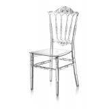 Svadobná stolička CHIAVARI PRINCESS TRANSPARENTNÉ