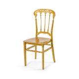 Svadobná stolička CHIAVARI QUEEN ZLATÁ