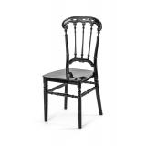 Svadobná stolička CHIAVARI QUEEN ČIERNA