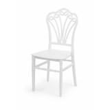 Svadobná stolička CHIAVARI LORD biela
