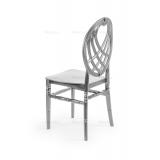 Svadobná stolička CHIAVARI KING STRIEBRO