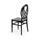 Svadobná stolička CHIAVARI KING ČIERNA