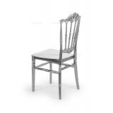 Svadobná stolička CHIAVARI PRINCESS STRIEBRO
