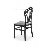 Svadobná stolička CHIAVARI LORD ČIERNA