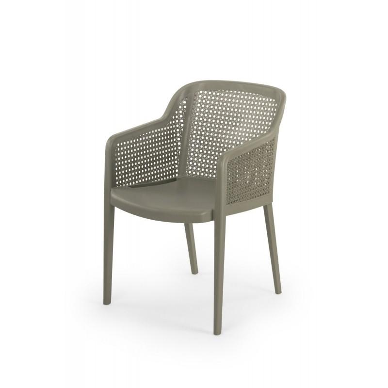 Stoličku do pivných záhrad CARLO sivá