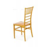 Svadobné stoličky CHIAVARI TIFFANY zlato