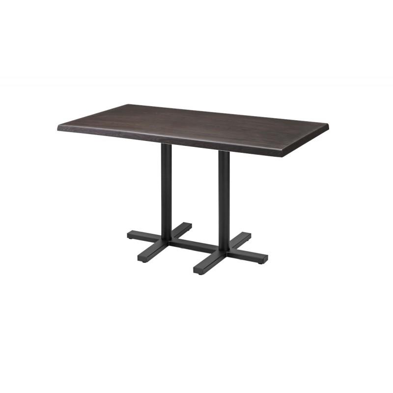 Stôl do pivných záhrad CROSS DUO 120x70cm 34mm