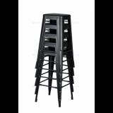 Hoker PARIS inšpirované TOLIX s dreveným sedadlom