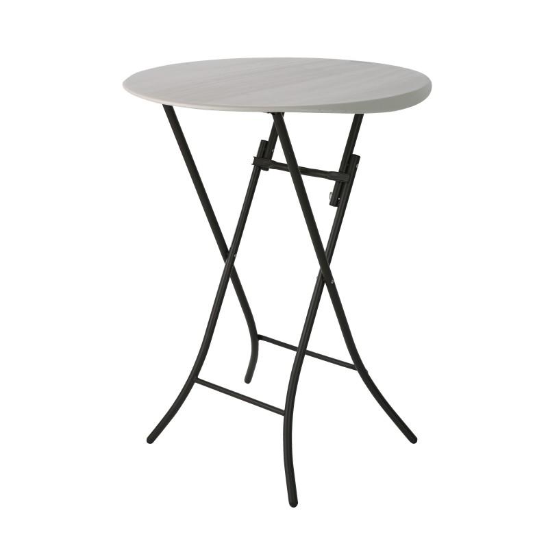 Cateringový skládací koktejlový stôl 80362 fi 84 cm
