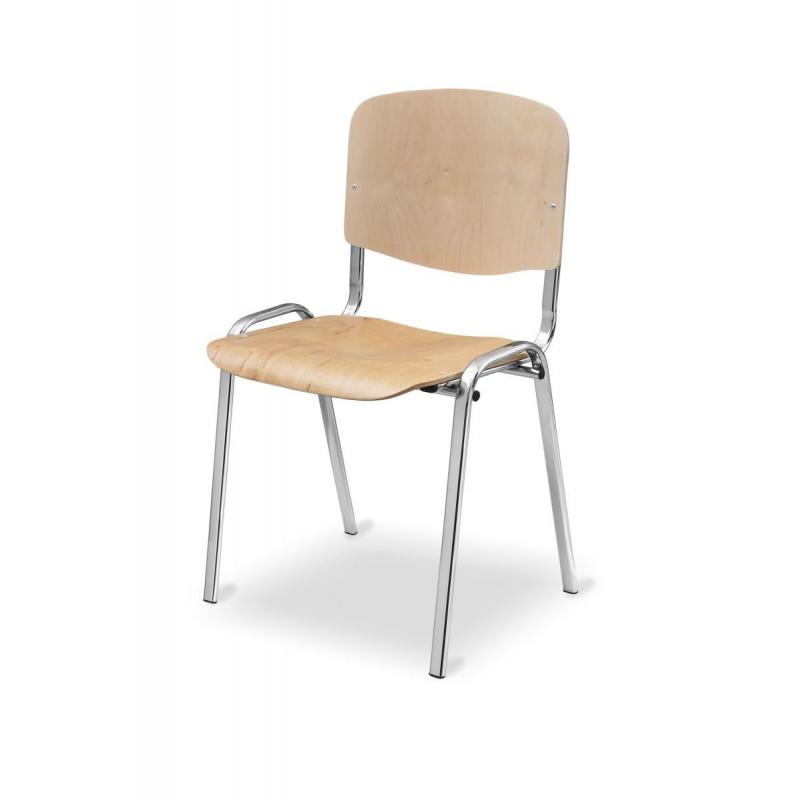 Konferenčná stolička ISO WOOD CR