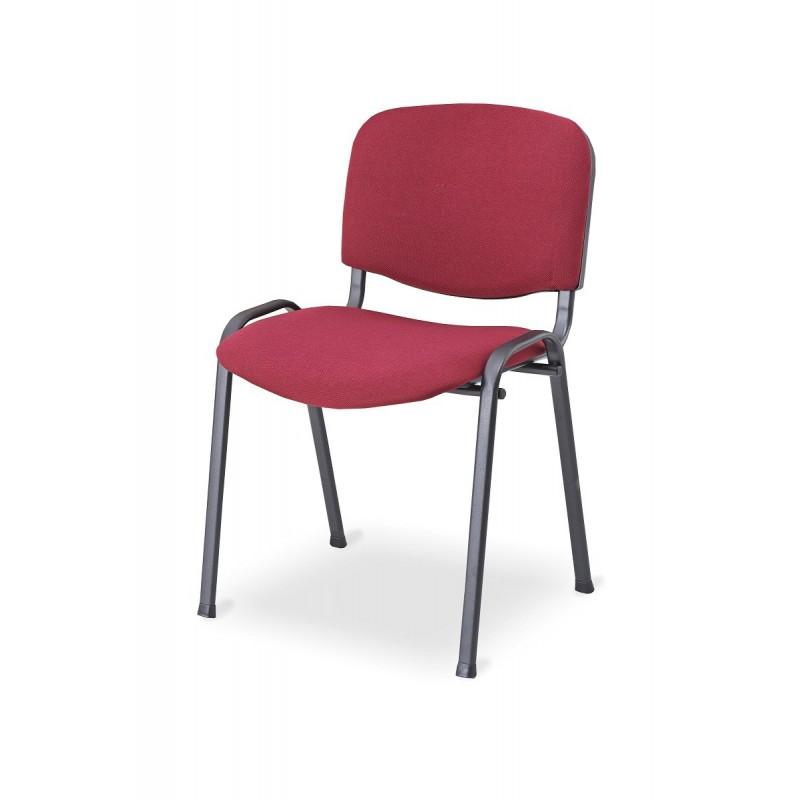 Konferenční židle ISO 24HBL-T burgundské