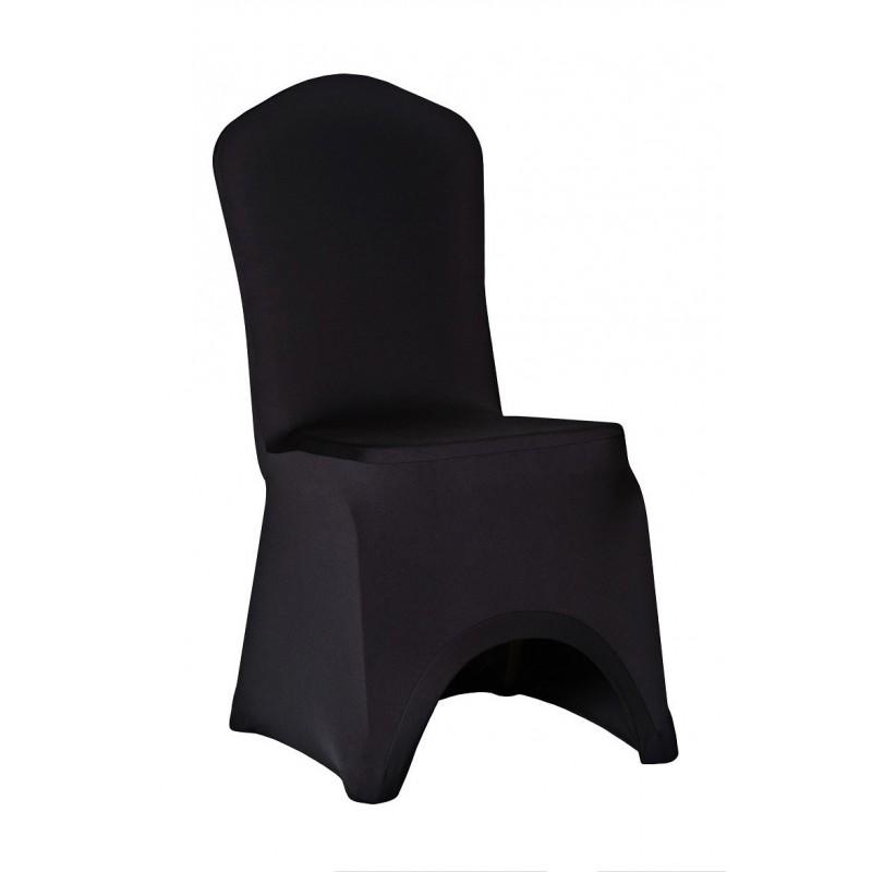 Návleky na stoličky SLIMTEX LUX Čierna