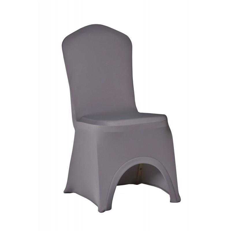 Potahy na židle SLIMTEX LUX Šedá