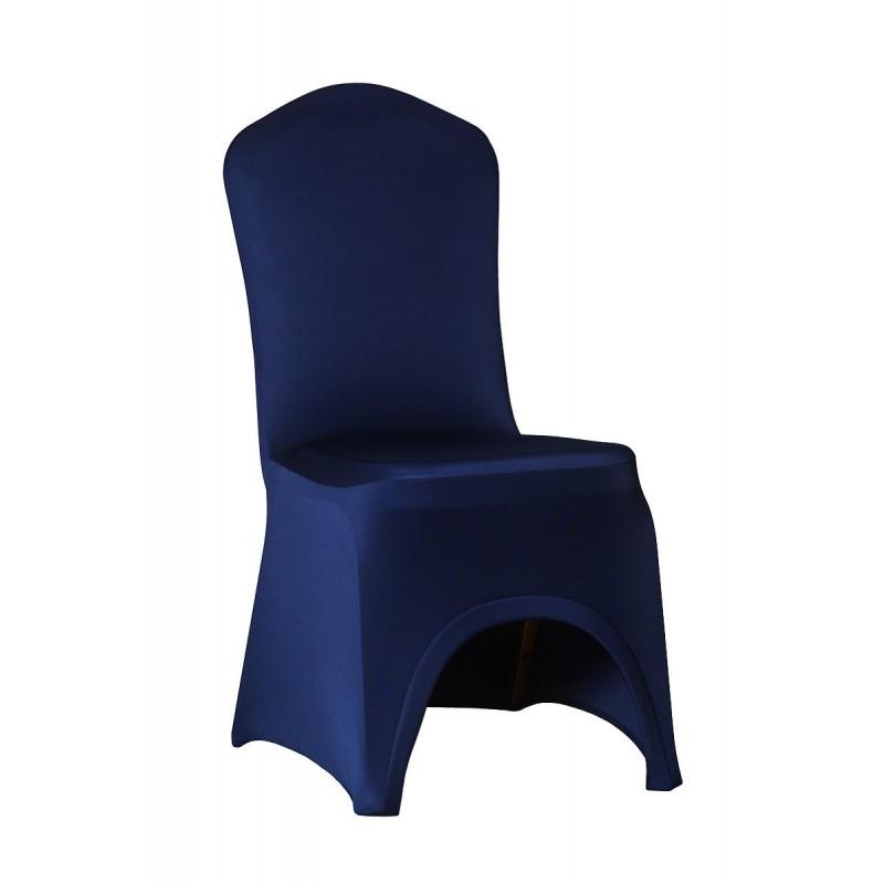 Návleky na stoličky SLIMTEX LUX Námornícka Modrá