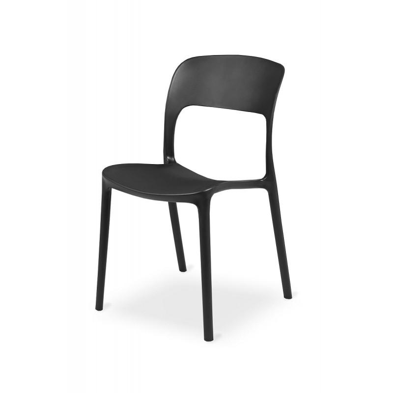 Stolička Bistro HAVANA černá