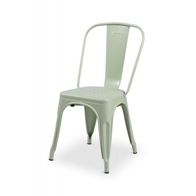 Barová židle PARIS inspirovaná TOLIX celadon mat